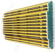 STAEDTLER NORIS 2H SCHOOL PENCILS 2H GRADE [Box of 36]
