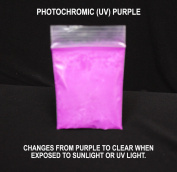 Purple Photochromic (UV) Pigment - Changes from Clear/White to Purple in the Sun
