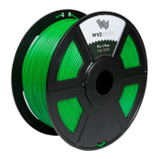 WYZworks PLA 1.75mm [ GREEN ] Premium Thermoplastic Polylactic Acid 3D Printer Filament - Dimensional Accuracy +/- 0.05mm 1kg / 2.2lb + [ Multiple Colour Options Available ]