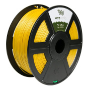 WYZworks PLA 1.75mm [ GOLD ] Premium Thermoplastic Polylactic Acid 3D Printer Filament - Dimensional Accuracy +/- 0.05mm 1kg / 2.2lb + [ Multiple Colour Options Available ]