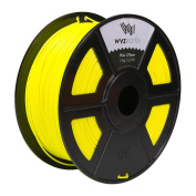 WYZworks PLA 1.75mm [ FLUORESCENT YELLOW ] Premium Thermoplastic Polylactic Acid 3D Printer Filament - Dimensional Accuracy +/- 0.05mm 1kg / 2.2lb + [ Multiple Colour Options Available ]
