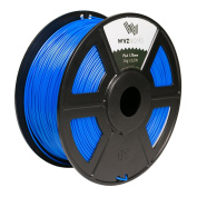 WYZworks PLA 1.75mm [ BLUE ] Premium Thermoplastic Polylactic Acid 3D Printer Filament - Dimensional Accuracy +/- 0.05mm 1kg / 2.2lb + [ Multiple Colour Options Available ]