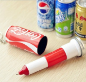 Ou Mad 6pc Beverage Pens with 6 Colours Creative Stretch Plastic Pop Can