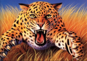 5D DIY Crystal Diamond Painting Rhinestone Painting Cross Stitch By Number Kits Roaring Tiger (73x55)CM
