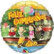 El Chavo del 8 Balloons 3PC Mylar Party Supplies Favours Decoration Centrepiece