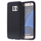 S7 Case,Galaxy S7 Phone Case,SAVYOU 2 In 1Dual Layer Hybrid Gel Shock Absorbing Case Armour Defender Case for Samsung Galaxy S7