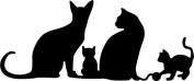 Cheery Lynn Designs B417 Kitty Meow Scrapbooking Die Cut
