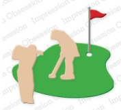 Golf Die for Scrapbooking