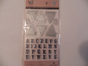 Art C Stamp & Cut - Banner & Alphabet