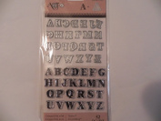 Art C Stamp & Cut ~ Mini Alphabet