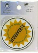 Lil Davis Designs Chip Art Coaster - DISCOVER
