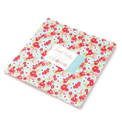 Little Ruby by Moda Layer Cake 42 25cm Squares Precut Fabric