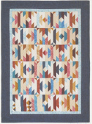 Sonora Quilt Pattern, Jelly Roll 6.4cm Strip Friendly, 4 Finished Size Options