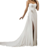 Sweetheart Simple Chiffon Beach Wedding dresses