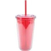 Copco 2510-0285 710ml Double Wall Cold Tumbler, Red 237807