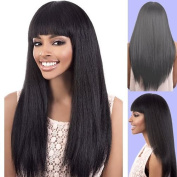 Y. MAXI (Motown Tress) - Synthetic Full Wig in BLACKPEARL