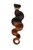OneDor Virgin Brazilian Afro Remy Human Hair Extensions Unprocessed Natural Black Hair Weft Hair Weaving 100g/Bundle