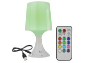 Baby Room Night Light, Bedside Mood Lamp For Bedroom, 7 colour led light changer, Remote control and USB included.