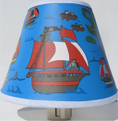 Pirate Night Light / Pirate Nursery Decor