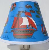 Pirate Night Light / Pirate Nursery Decor