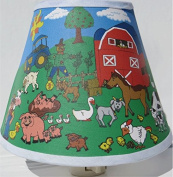 Farm Animal Night Light / Farm Animal Nursery Decor