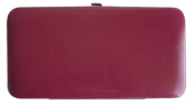 TOPCHOICE Women's Maroon Clutch Wallet