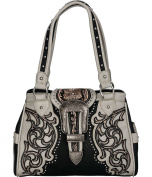 Montana West Ornate Buckle Concealed Handgun Shoulder Bag