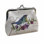 Wallet,toraway Vintage Womens Bird Wallet Card Holder Coin Purse Clutch Handbag