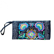 Wallet,toraway Women Ethnic Handmade Embroidered Wristlet Clutch Bags Vintage Purse