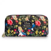 Loungefly Disney Alice In Wonderland Floral Wallet