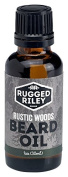 Rugged Riley All Natural Men's Rustic Woods Beard Oil