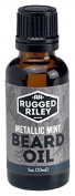 Rugged Riley All Natural Men's Metallic Mint Beard Oil