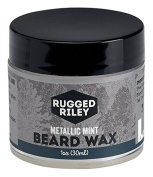Rugged Riley All Natural Men's Metallic Mint Beard Wax