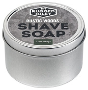 Rugged Riley All Natural Men's Rustic Woods Shave Soap