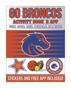 Go Boise State Broncos Activity Book