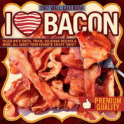 I Love Bacon 2017 Wall Calendar