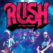 Rush 2017 Wall Calendar