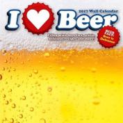 I Love Beer 2017 Wall Calendar