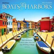 Boats & Harbors 2017 Wall Calendar