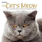 Cat's Meow 2017 Wall Calendar
