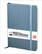 Monsieur Notebook Soft Leather Journal - Baby Blue Ruled Medium