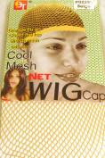 3 Pack Mesh Net Wig Cap Liner - Beige