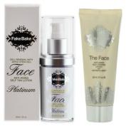 Fake Bake Platinum Face Tanning Lotion 60ml + The Face Matrix Self-Tanning Lotion 60ml