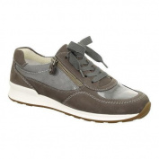 Women's ara Hollis 44526 Sneaker Street Nubuck/Patent