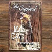Vintage Metal Sign - Man Cave