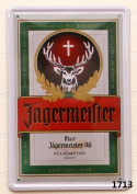 Retro Metal Tin Sign - Jagermeister
