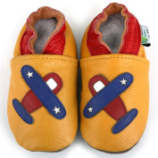 Aeroplane Soft Sole Leather Baby Shoes