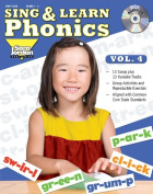 Sing and Learn Phonics, vol. 4 (Book with Audio CD)