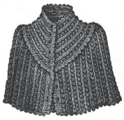 1889 Crochet Cape Pattern/Instructions