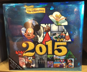 Walt Disney World 2015 30cm x 30cm Scrapbook Album NEW